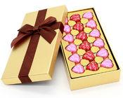 Recyclable Luxury Cardboard Chocolate Packaging Offset Printing CMYK 4 Colors