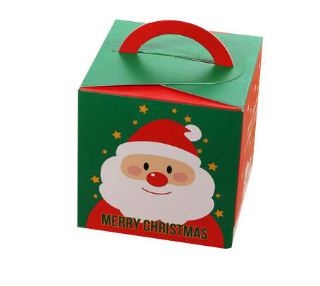 Offset Printing Christmas Packaging Boxes Matte Varnish Surface Finishing